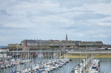 The town of St Malo